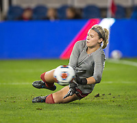 Stanford, CA - December 8, 2019: Lauren Rood at Avaya Stadium. The Stanford Cardinal won their 3rd National Championship, defeating the UNC Tar Heels 5-4 in PKs after the teams drew at 0-0.