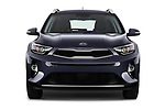 Car photography straight front view of a 2018 KIA Stonic Sense 5 Door SUV