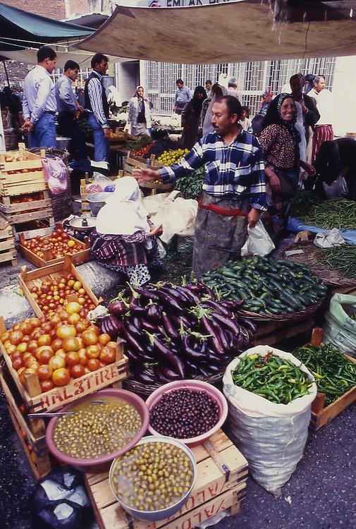 Asia, TUR, Turkey, Aegean Sea, Aegean, Tire, Market, Marketplace, Vegetable