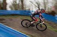 Laura Verdonschot (BEL/Pauwels Sauzen-Bingoal)<br /> <br /> 2021 Flandriencross Hamme (BEL)<br /> <br /> ©kramon