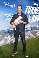 """LOS ANGELES, CA - JULY 15: Executive Producer Michael Horowitz attends a premiere event for the Disney+ original series """"Turner & Hooch"""" at Westfield Century City on July 15, 2021 in Los Angeles, California. (Photo by Frank Micelotta/Disney+/PictureGroup)"""