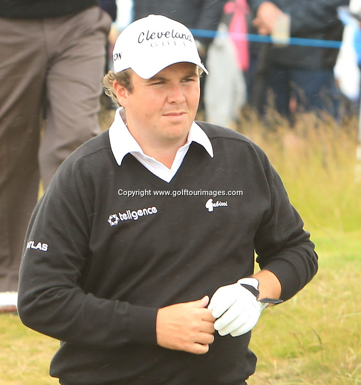 Shane Lowry (IRL) during the third round of the 2012 Aberdeen Asset Management Scottish Open being played over the links at Castle Stuart, Inverness, Scotland from 12th to 15th July 2012:  Stuart Adams www.golftourimages.com:14th July 2012
