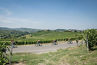 Wout Van Aert (BEL/Jumbo-Visma) & team <br /> <br /> 'La Primavera' (Spring) in summer!<br /> 111st Milano-Sanremo 2020 (1.UWT)<br /> 1 day race from Milano to Sanremo (305km)<br /> <br /> the postponed edition > exceptionally held in summer because of the Covid-19 pandemic calendar reshuffle