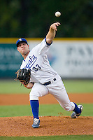 Ryan Dennick #33 of the Burlington Royals in action versus the Pulaski Mariners at Burlington Athletic Park August 4, 2009 in Burlington, North Carolina. (Photo by Brian Westerholt / Four Seam Images)