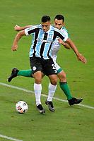 PORTO ALEGRE, RS, 22.04.2021 - GREMIO - LA EQUIDAD – O jogador Ruan, da equipe do Grêmio, na partida entre Grêmio e La Equidad, pela primeira rodada da Copa Sul Americana, no estádio Arena do Grêmio, em Porto Alegre, nesta quinta-feira (22).