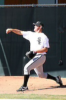 Leroy Hunt - Chicago White Sox, 2009 Instructional League.Photo by:  Bill Mitchell/Four Seam Images..