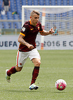 Calcio, Serie A: Roma vs ChievoVerona. Roma, stadio Olimpico, 8 maggio 2016.<br /> Roma's Lucas Digne in action during the Italian Serie A football match between Roma and ChievoVerona at Rome's Olympic stadium, 8 May 2016.<br /> UPDATE IMAGES PRESS/Isabella Bonotto