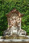 Frankreich, Provence-Alpes-Côte d'Azur, Mougins: Brunnen 'Fontaine Maryse Duhalde' | France, Provence-Alpes-Côte d'Azur, Mougins: fountain 'Fontaine Maryse Duhalde'