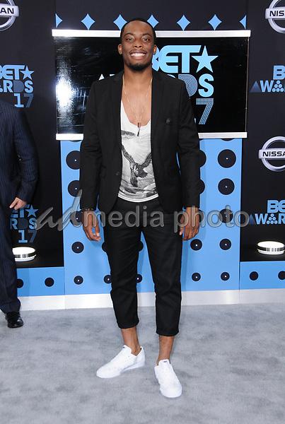 25 June 2017 - Los Angeles, California - Woody McClain. 2017 BET Awards held at the Microsoft Square in Los Angeles. Photo Credit: Birdie Thompson/AdMedia
