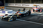 Jean-Eric Vergne of France from TECHEETAH competes in the FIA Formula E Hong Kong E-Prix Round 1 at the Central Harbourfront Circuit on 02 December 2017 in Hong Kong, Hong Kong. Photo by Marcio Rodrigo Machado / Power Sport Images