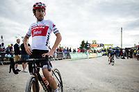 Fabio Felline (ITA/Trek Segafredo), post race<br /> <br /> <br /> <br /> Stage 6: Mulhouse to La Planche des Belles Filles (157km)<br /> 106th Tour de France 2019 (2.UWT)<br /> <br /> ©kramon
