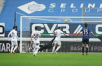 Bergamo  06-02-2021<br /> Stadio Atleti d'Italia<br /> Serie A  Tim 2020/21<br /> Atalanta- Torino nella foto:  Belotti goal                                                        <br /> Antonio Saia Kines Milano