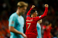 Cristiano Ronaldo of Portugal celebrates at full time of the UEFA Nations League Final match between Portugal and Netherlands at Estadio do Dragao on June 9th 2019 in Porto, Portugal. (Photo by Daniel Chesterton/phcimages.com)<br /> Finale <br /> Portogallo Olanda<br /> Photo PHC/Insidefoto <br /> ITALY ONLY