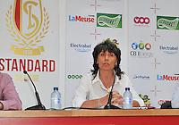 Persconferentie Standard Femina de Liege : Fery Ferraguzzi <br /> foto Joke Vuylsteke / nikonpro.be