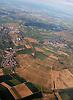 Luftaufnahme von Nieder-Olm (links Mitte), Sörgenloch (links unten) und Zornheim (Mitte) in Rheinhessen<br /> <br /> aerial view of Rheinhessen