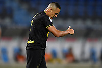 Alexis Sanchez of FC Internazionale reacts during the Serie A football match between SPAL and Internazionale FC at Paolo Mazza stadium in Ferrara ( Italy ), July 16th, 2020. Play resumes behind closed doors following the outbreak of the coronavirus disease. Photo Andrea Staccioli / Insidefoto