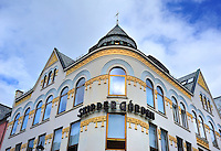 N - NORWAY - ALESUND<br /> Art Nouveau ornamentation on buildings in old town centre<br /> <br /> Full size: 67 MB