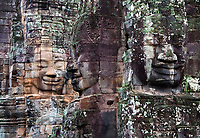 Bayon Temple, Angkor Wat area, Cambodia