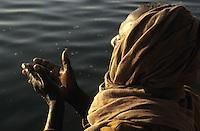 INDIA: Ganges river