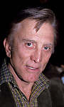 Kirk Douglas attending a Broadway show on April 1, 1981 in New York City.
