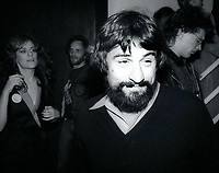1978 FILE PHOTO<br /> New York, NY<br /> Robert DiNiro at Studio 54<br /> Photo by Adam Scull-PHOTOlink.net