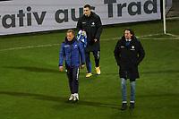 Trainer Markus Anfang (SV Darmstadt 98) und Sportlicher Leiter Carsten Wehlmann<br /> <br /> - 26.02.2021 Fussball 2. Bundesliga, Saison 20/21, Spieltag 23, SV Darmstadt 98 - Karlsruher SC, Stadion am Boellenfalltor, emonline, emspor, <br /> <br /> Foto: Marc Schueler/Sportpics.de<br /> Nur für journalistische Zwecke. Only for editorial use. (DFL/DFB REGULATIONS PROHIBIT ANY USE OF PHOTOGRAPHS as IMAGE SEQUENCES and/or QUASI-VIDEO)