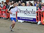 Brian Murphy running in the Integral Clogherhead 10K. Photo:Colin Bell/pressphotos.ie
