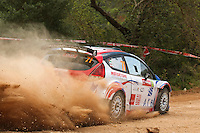 Ala'a Rasheed and Joseph Matar, Ford Fiesta RRC of MOTORTUNE RACING during WRC Vodafone Rally de Portugal 2013, in Algarve, Portugal on April 11, 2013 (Photo Credits: Paulo Oliveira/DPI/NortePhoto)