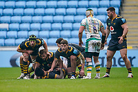 6th February 2021; Ricoh Arena, Coventry, West Midlands, England; English Premiership Rugby, Wasps versus Northampton Saints; The Northampton Saints players protect the ball