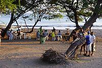 Fischerihafen in Porto Novo, Santo Antao, Kapverden, Afrika