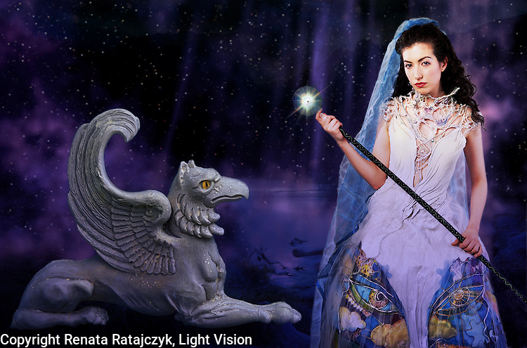Dream Lake 1 - Fantasy Art
