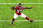 Atlanta Falcons defensive tackle Grady Jarrett (97) in action during Super Bowl LI at the NRG Stadium in Houston, Texas.