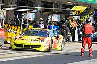 #57 KESSEL RACING (CHE) FERRARI 488 GTE EVO LMGTE AM - TAKESHI KIMURA (JAP) / MIKKEL JENSEN (DNK) / SCOTT ANDREWS (AUS)