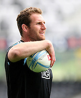 All Black captain Kieran Read at the captains run prior to the Rugby Championship, Bledisloe Cup test match between New Zealand and Australia, Forsyth Barr Stadium, Dunedin, New Zealand, Friday, October 18, 2013. Photo: Dianne Manson / photosport.co.nz
