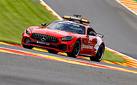 27th August 2021; Spa Francorchamps, Stavelot, Belgium: FIA F1 Grand Prix of Belgium, free practise:   F1 Safety Car, Mercedes-AMG GT R