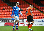 Dundee United v St Johnstone.....04.05.13      SPL.Dave Mackay shows his delight at full time.Picture by Graeme Hart..Copyright Perthshire Picture Agency.Tel: 01738 623350  Mobile: 07990 594431