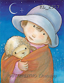 Interlitho, Soledad, CHRISTMAS CHILDREN, naive, paintings, boy, lamb(KL2317,#XK#) Weihnachten, Navidad, illustrations, pinturas