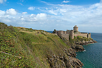 Fort la Latte, a 13th century castle in Brittany, France.