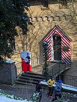 Gebäude des Deutscher Zollverein, Luxemburg-City, Luxemburg, Europa, UNESCO-Weltkulturerbe<br /> Building of Deutscher Zollverein, Luxembourg City, Europe, UNESCO Heritage Site