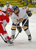 9 February 2008: University of Vermont Catamounts' forward Chelsea Furlani, a Sophomore from Colchester, VT, in action against the Boston University Terriers at Gutterson Fieldhouse in Burlington, Vermont. The Terriers shut out the Catamounts 2-0 in the Hockey East matchup...Mandatory Photo Credit: Ed Wolfstein Photo