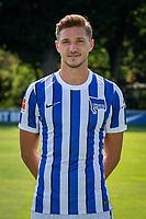 17th August 2020; Berlin, Germany. Hertha Berlin official Bundesliga season portraits, season 2020-21:  Niklas Stark Hertha BSC, No.05