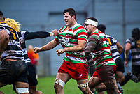 Action from the Swindale Shield Wellington premier men's club rugby union match between Oriental-Rongotai and Hutt Old Boys Marist at Polo Ground in Wellington, New Zealand on Saturday, 20 June 2020. Photo: Dave Lintott / lintottphoto.co.nz