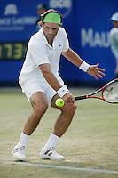 21-6-06,Netherlands, Rosmalen,Tennis, Ordina Open, 2nd round match, Raemon Sluiter