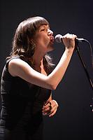 Montreal (Qc) CANADA April 18, 2008 -<br /> Celine Boissonneault in concert for <br />  VUE SUR LA RELEVE Professionelle de la Scene , Maison de la culture Frontenac, Montreal.<br /> <br /> Photo (c)  Images Distribution