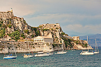 Saint George at the old Fortress of Corfu, Greece
