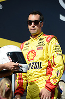 HOMESTEAD, FL - NOVEMBER 18:  Sam Hornish Jr  is introduced before the NASCAR Sprint Cup Series Ford EcoBoost 400 at Homestead-Miami Speedway on November 18, 2012 in Homestead, Florida.<br /> <br /> <br /> People:  Sam Hornish Jr