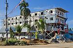 New construction on Calle 3, Bocas Town, Bocas del Toro, Panama