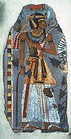 Egyptian Tomb Paintings:  King Amenophis I,  c. 1150 BC.  Trustees of the British Museum.  Reference only.