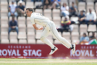 Trent Boult, New Zealand bowling from the pavilion end during India vs New Zealand, ICC World Test Championship Final Cricket at The Hampshire Bowl on 23rd June 2021