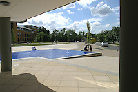 Exterior views of the campus, University of Surrey.